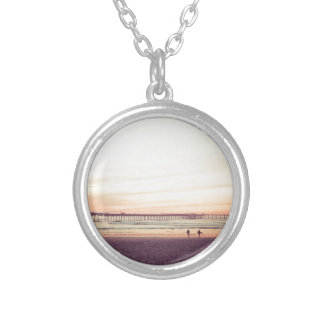 Sunset at Ocean Beach, California Custom Necklace
