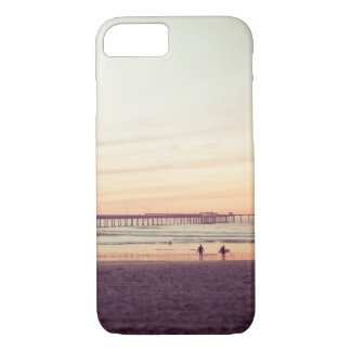 Sunset at Ocean Beach, California iPhone 8/7 Case