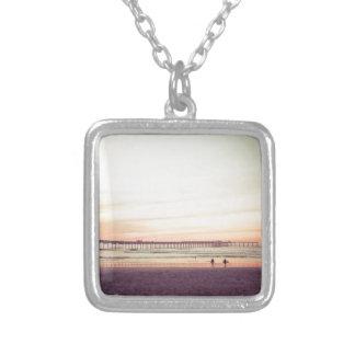 Sunset at Ocean Beach, California Pendant