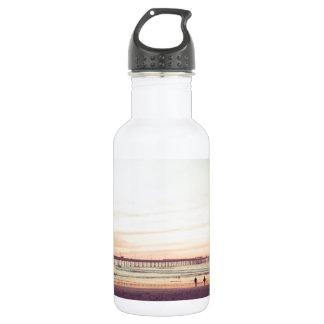 Sunset at Ocean Beach, California Stainless Steel Water Bottle