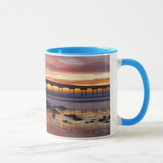 Sunset at Ocean Beach Mug