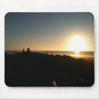 Sunset at Ocean Shores Mouse Pad