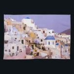 """Sunset at Oil, Santorini 2 Hand Towel<br><div class=""""desc"""">Sunset at Oil,  Santorini  Bill Bachmann / DanitaDelimont.com</div>"""