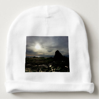 Sunset at Olympic National Park Baby Beanie
