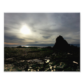 Sunset at Olympic National Park Photo Print