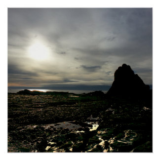 Sunset at Olympic National Park Poster