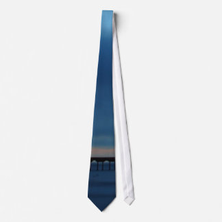 Sunset At Pacific Beach Tie