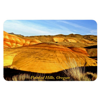 SUNSET AT PAINTED HILLS MAGNET