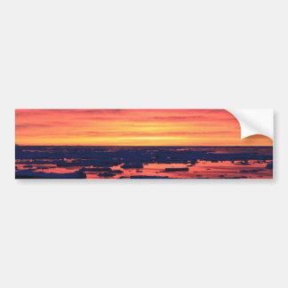 Sunset at Palmer Station Bumper Sticker