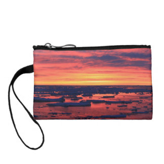 Sunset at Palmer Station Coin Wallet