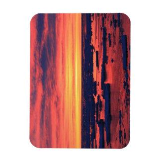 Sunset at Palmer Station Magnet
