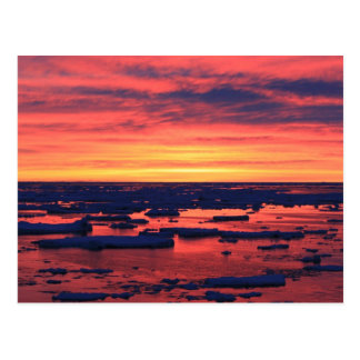 Sunset at Palmer Station Postcard