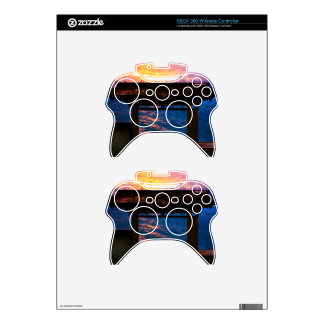 Sunset at Paradise Bay Xbox 360 Controller Decal