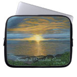 Sunset at Paradise Cove Electronics Sleeve Computer Sleeves