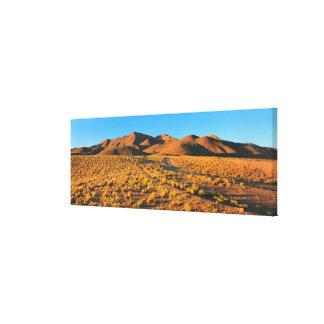 Sunset At Paramillos Canvas Print