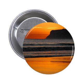 Sunset At Point Loma 2 Inch Round Button