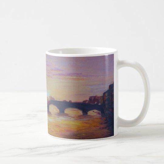 Sunset at Ponte Vecchio Coffee Mug