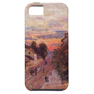 Sunset at Port Marly by Alfred Sisley iPhone SE/5/5s Case