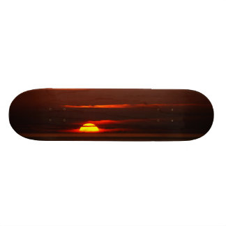 Sunset at Porto Covo West Coast of Portugal Skateboard Deck