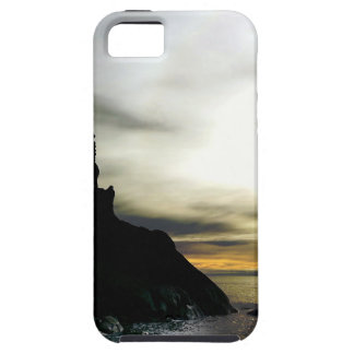 Sunset at Rialto Beach Olympic National Park iPhone SE/5/5s Case