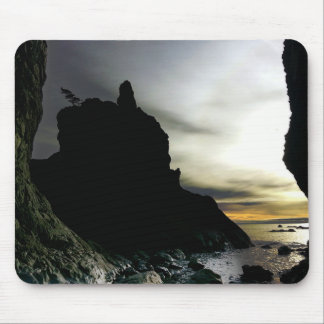Sunset at Rialto Beach Olympic National Park Mouse Pad