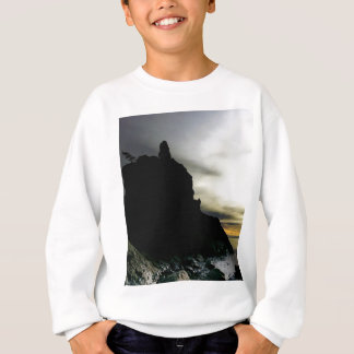 Sunset at Rialto Beach Olympic National Park Sweatshirt