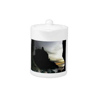 Sunset at Rialto Beach Olympic National Park Teapot