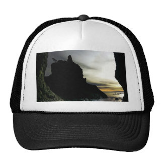 Sunset at Rialto Beach Olympic National Park Trucker Hat