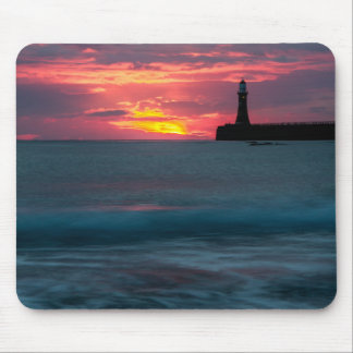 Sunset at Roker Mouse Pad