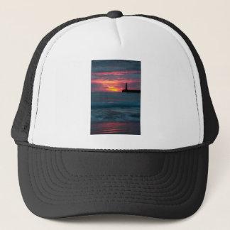 Sunset at Roker Trucker Hat