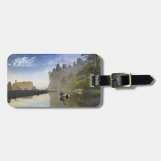 Sunset at Ruby Beach, Olympic National Park, Bag Tag