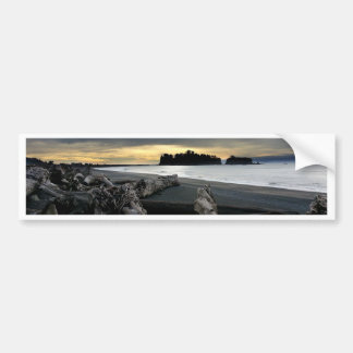 Sunset at Ruby Beach Olympic National Park Bumper Sticker