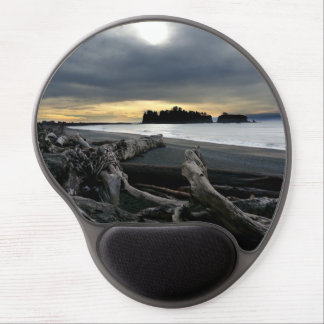 Sunset at Ruby Beach Olympic National Park Gel Mouse Pad