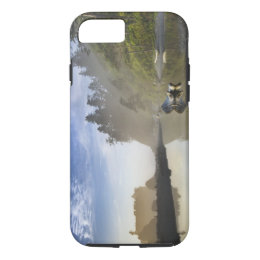 Sunset at Ruby Beach, Olympic National Park, iPhone 8/7 Case