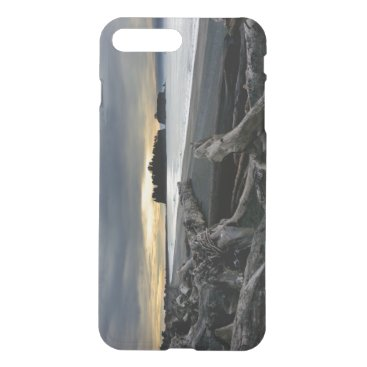 Beach Themed Sunset at Ruby Beach Olympic National Park iPhone 8 Plus/7 Plus Case