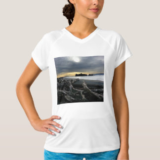Sunset at Ruby Beach Olympic National Park T Shirt