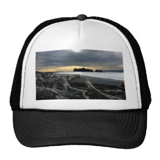 Sunset at Ruby Beach Olympic National Park Trucker Hat
