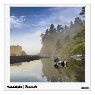 Sunset at Ruby Beach, Olympic National Park, Wall Decals