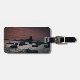 Sunset At Saltwick Bay Luggage Tag