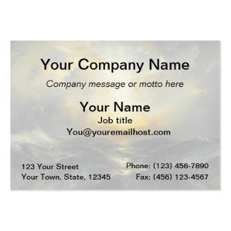 Sunset at Sea - 1906 Large Business Cards (Pack Of 100)
