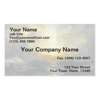 Sunset at Sea - 1906 Double-Sided Standard Business Cards (Pack Of 100)