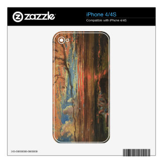 Sunset at Sea after a Storm (oil on pressed cardbo Decal For The iPhone 4S