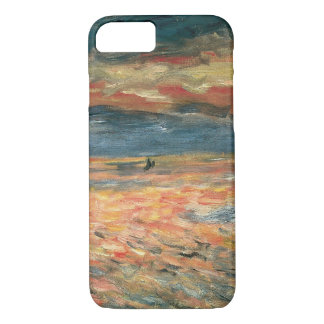Sunset at Sea by Pierre Renoir, Vintage Fine Art iPhone 8/7 Case