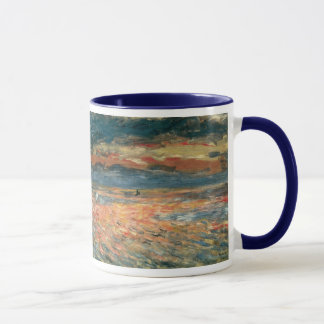 Sunset at Sea by Pierre Renoir, Vintage Fine Art Mug