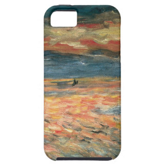 Sunset at Sea by Renoir, Vintage Impressionism Art iPhone 5 Cases