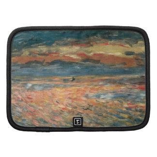 Sunset at Sea by Renoir, Vintage Impressionism Art Organizers
