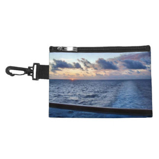 Sunset at Sea Cruise Travel Accessories Bags