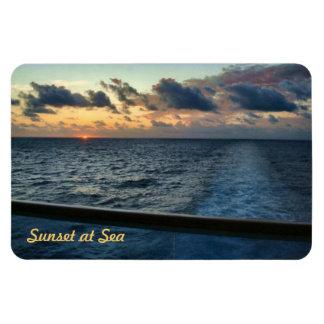Sunset at Sea Custom Premium Magnet