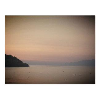 Sunset at Sidari (Corfu, Greece) Postcard