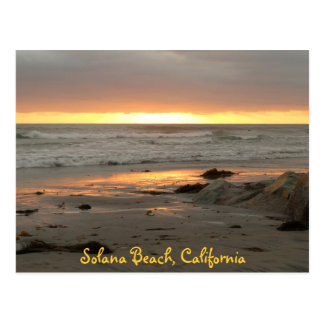 Sunset at Solana Postcard